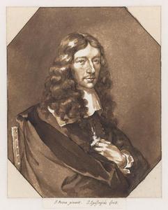 Portret van de jurist en amateurkunstenaar Jan de Bisschop (1628-1671)