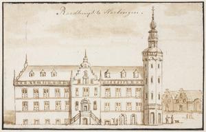 Het stadhuis in Harlingen