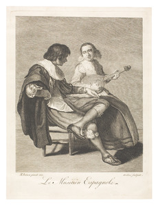 Le Musicien Espagnole