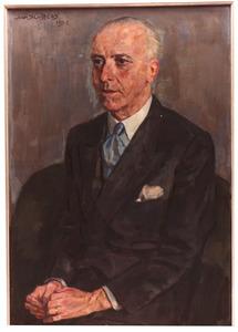 Portret van de heer P. Jaffé