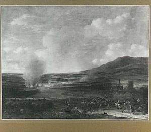 De landing der Hollanders te Sheerness en Chatham, 20 juni 1667
