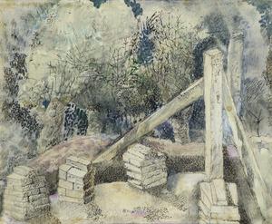 Atelier in aanbouw te Blaricum