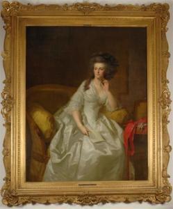 Portret van Wilhelmina van Pruisen (1751-1820