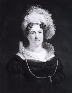 Portret van een vrouw, waarschijnlijk Hendrika Wilhelmina Duvergé (1792-1826)
