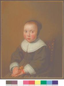 Portret van een vijfjarig meisje