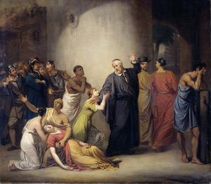 De zelfopoffering van de predikant Antonius Hambroek (1607-1661) op Formosa in 1661
