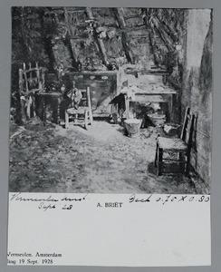 Interieur van een boerenwoning