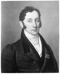 Portret van Hendrik Jacob Carel Johan van Heeckeren (1785-1862)