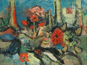 Bloemen en bomen