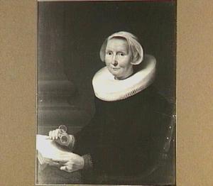 Portret van de moeder van de schilder