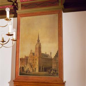 Het voormalig stadhuis van Rotterdam