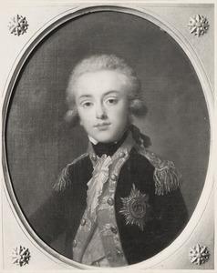 Portret van Frederik van Oranje-Nassau (1774-1799)