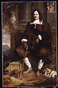 Portret van Philippe le Roy, Seigneur de Bruchem, Ravels, etc., raadsheer en gevolmachtigde in de Raad der Domeinen van de Zuidelijke Nederlanden (1596-1679)
