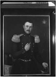 Portret van Petrus Alexander Jacobus Henricus Boreel de Mauregnault (1809-1875)