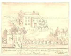 Huis Duistervoorde te Twello anno 1717