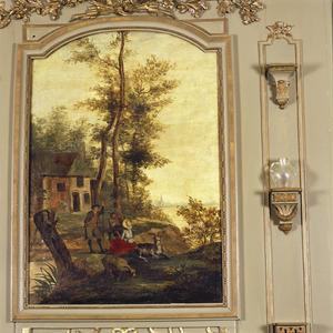 Hollands landschap met pastorale scène