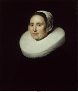 Portret van Susanna Pietersdr. Oostdijck