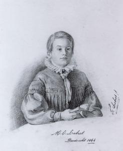 Portret van Martinus Cornelis Lebret (1833-1894)