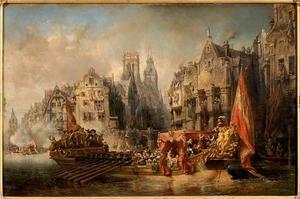 Aankomst van de hertog van Alva in Rotterdam (1567)
