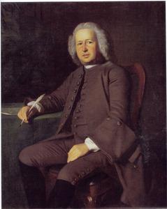 Portret van Mr. John Barrett