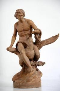 De roof van Ganymedes