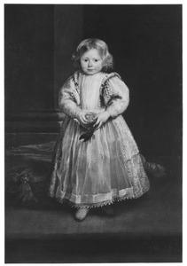 Portret van Maddalena Cattaneo (?-?), dochter van Giacomo Cattaneo en Elena Grimaldi