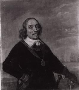 Portret van Maerten Harpertz. Tromp (1598-1653)