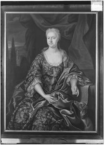 Portret van Anna Angela Catharina van der Heyden (1692-1765)