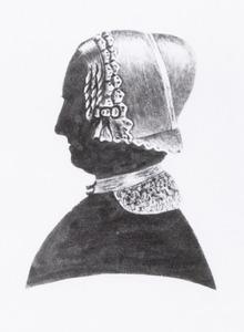 Portret van Elisabeth Maria Versfelt (1790-1855)