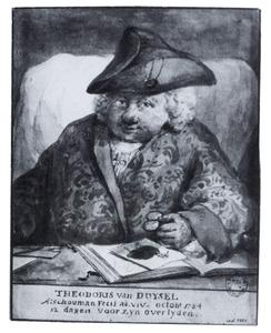 Portret van Theodorus van Duysel (?-1784)