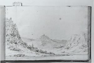 Landschap langs de Rijn