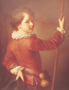Portret van een jongen als pelgrim