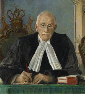 Portret van Lodewijk Ernst Visser (1871-1942)