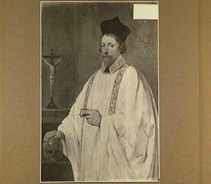 Portret van Adriaan van Uyttenhage van Ruyven (1598-1652), Pastoor te Den Briel en Delft