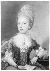 Portret van Anna van der Aar de Sterke (1755-1831)