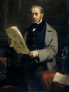 Portret van Jacob de Vos Jacobsz. (1803-1878)