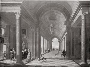 Interieur van een Renaissance zaal
