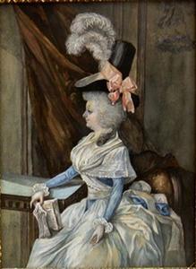 Portret van Sara Susanna Bergsma (1769-1836)