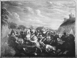 Ruitergevecht tussen Turken