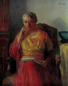 Portret van Anna Spencer Brugh (1878-1962)