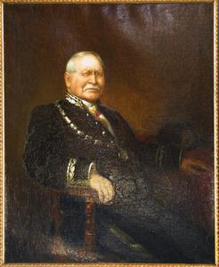 Portret van Willem Hubert Pijls (1819-1903)
