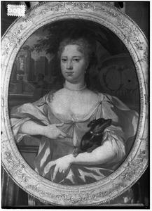 Portret van Maria Eva van Akerlaken (1705-1736)