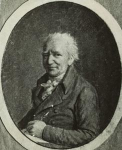 Portret van Benjamin Samuel Bolomey (1739-1819)