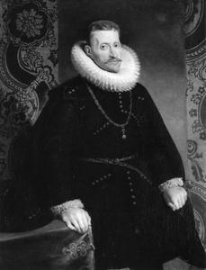 Portret van aartshertog Albrecht van Oostenrijk (1559-1621)
