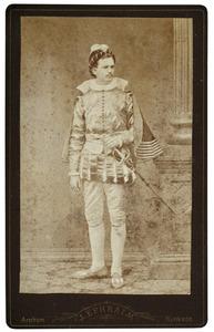 Portret van Johan Adolf de Jonge van Zwijnsbergen (1860-1945) als William Davidson