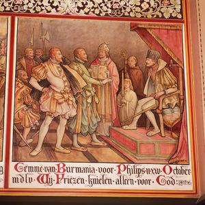 Gemme van Burmania voor Filips II