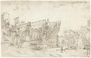Ponte Rotto over de Tiber, Rome