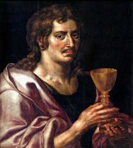 Zelfportret als Johannes de Evangelist