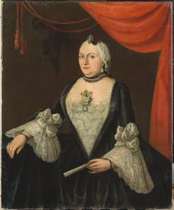 Portret van Johanna van Rijswijk (1715-?)