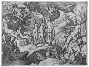 Het oordeel van Paris (Hyginus 92; Lucianus, Deorum dialogi 20)